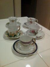 Vintage Mini Cup & Saucers Lot of 5