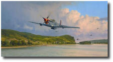 Air Superiority by Robert Taylor -WWII - P-51 Mustangs - Aviation Art Prints