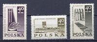 37898) Poland 1967 MNH New Memorials 3v