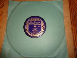 1920s BRUNSWICK 78/CLAIRE DUX-Soprano w.Piano-Frederic Persson/E!!!