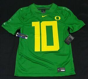 Nike Oregon Ducks Game Day Justin Herbert 10 Green Jersey AR9446- 378