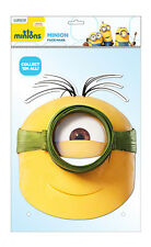 Minion au Natural Oficial Minions 2d Tarjeta Partido Mascarilla Fancy Dress Up