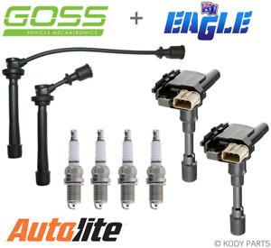 IGNITION LEADS, COILS & AUTOLITE PLUGS - for Suzuki Swift 1.5L RS415 EZ (M15A)