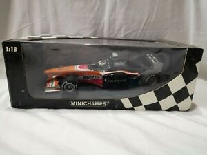 MINICHAMPS ARROWS F1 SHOWCAR 2000 1:18 PEDRO DE LA ROSA RARE UNUSED