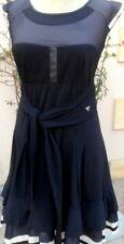 robe marine la mode est a vous LMV taille 36 38 modele * greco * neuf s/e