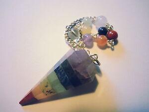 7 Chakra Pendel pendule pendolo pendulo dowser B-WARE