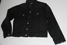 Ralph Lauren RRL DOUBLE RL Faded Black Denim Roper Selvedge Trucker Jacket XL