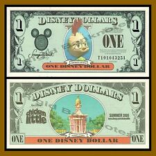 "Disney 1 Dollar, 2005 ""TA"" Series Chicken Little Unc"