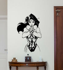 Wonder Woman Wall Decal Superhero Vinyl Sticker Art Decor Poster Mural 188zzz