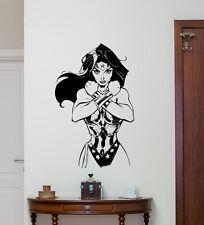 Wonder Woman Wall Decal Superhero Vinyl Sticker Art Decor Poster Mural 188zzz