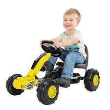 Redline Racer Go Kart Kids Junior Push Quality Ride On Pedal Karting Gift Xmas