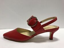 Paul Green Viola Womens Pump Slingback Red 7 M