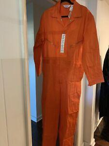 walls master made orange coverall jumpsuit 48 regular
