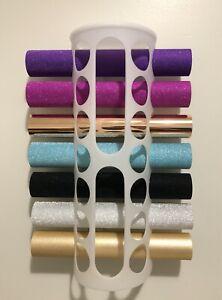 Storage for Cricut / die cutting vinyl rolls - holds 14 rolls - IKEA Variera