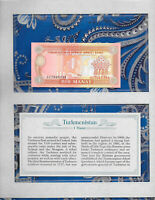 *Most Treasured Banknotes Turkmenistan 1988 1 Manat P-1 UNC Prefix AC