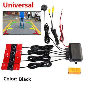 16mm Flat Sensor Universal Control Box Video Parking Radar Alarm System Reverse