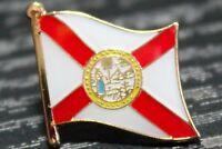 ** FLORIDA ** STATE USA STATE Metal Lapel Pin Badge *NEW*