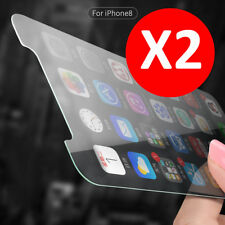2X 9H Premium Tempered Glass Screen Protector Guard Shield For iPhone X Apple