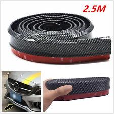 Carbon Fiber Look Car Front Bumper Lip Splitter Chin Spoiler Wing Body Kit Trim