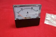 AC 60A  Analog Ammeter Panel AMP Current Meter AC 0-60A 60*70MM directly Connect