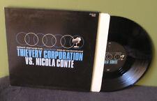 "Nicola Conte vs Thievery Corporation ""split"" 10"" OOP LP"