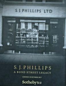 Sotheby's Catalogue London S.J. Phillips A Bond Street Legacy 18/10/2017 HB