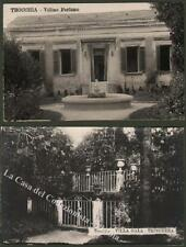 Campania. POLLENA TROCCHIA, Napoli. Villa Trinchera e Villino Perfumo.