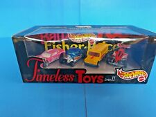 HOT WHEELS 4 Pack TIMELESS TOYS SERIES II BARBIE CAR, FISHER PRICE BUS,TYCO,ETC.
