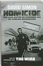 Homicide: een jaar achter de schermen van de afdeling moordzaken by Simon, David
