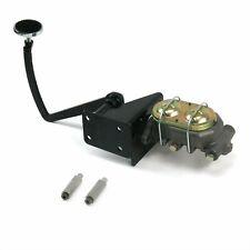 28 to 31 Model A Ford Frame Mount Pedal Assembly & Manual Master Cylinder Kit V8