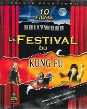 LE FESTIVAL DU KUNG FU / COFFRET 5 DVD - 10 FILMS HOLLYWOOD /*/ NEUF/CELLO