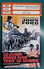 US Drama Movie The Sun Shines Bright John Ford French Film Trade Card