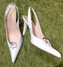 Zapatos mujer de tacon blanco Pablo Fuster 38
