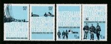 2009 AAT Stamps - South Magnetic Pole - MNH set of 4 (2 pairs)