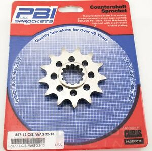 PBI - 857-13 -  Front Countershaft Sprocket, 13T - Made In USA