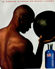 Publicité Advertising 1998  Parfum  POLO SPORT le parfum fitness de RALPH LAUREN