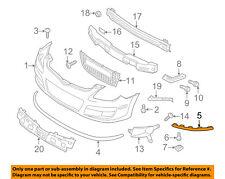 HYUNDAI OEM 09-12 Elantra-Bumper Trim-Molding Right 865822L300
