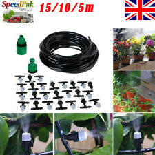 Garden Water Misting Cooling System Sprinkler Nozzle Micro Irrigation Kits Set