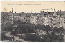 AK DRESDEN Johannstadt 1911 Dürerplatz Ecke Schumann und Holbeinstrasse   ( 2