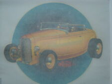 """1974 Roach """"Deuce"""" Chopped Coupe Roadster Iron On Transfer Unused"""