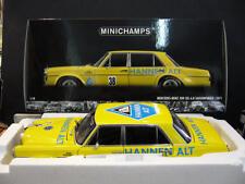 MERCEDES BENZ 300 SEL AMG 6.8 Hockenheim Heyer Hannen Alt 1971 Minichamps 1:18