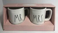 Rae Dunn Artisan Collection By Magenta Mr & Mrs Coffee Mugs