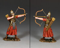 KING /& COUNTRY ROMAN EMPIRE ROM021 ROMAN LEGIONARY ARCHER REACHING FOR ARROW MB