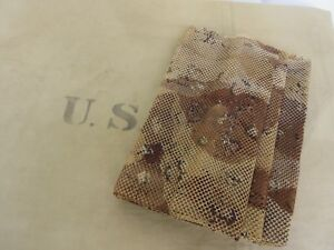 US Army Multipurpose Camouflage Netz Camo Net 1,55x2,55m Desert Storm Tarnung