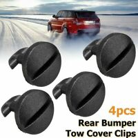 4Pcs BUMPER TOW EYE COVER CLIPS FOR LAND ROVER DISCOVERY 3 4 REAR TOWING TRIM
