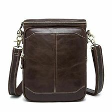 Men Casual Shoulder Business Bag Leather Cross Body Bags Handbags Male Briefcase