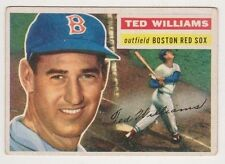 1956 Topps Gray Back #5 Ted Williams - Boston Red Sox, Excellent Condition