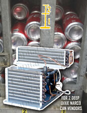 Brand New Dixie Narco Refrigeration System for 2 Deep Can Vendors