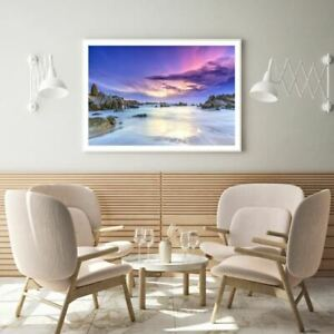 Sea Scenery View Photograph Print Premium Poster High Quality choose sizes