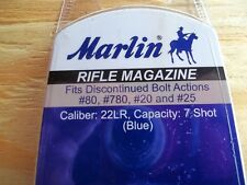 MARLIN 7 SHOT CLIP MAGAZINE FOR 22 BOLT ACTION RIFLE MODELS 80, 780, 20 & 25 NEW